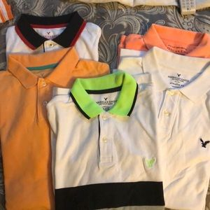 5 AE Men's Polo Shirts